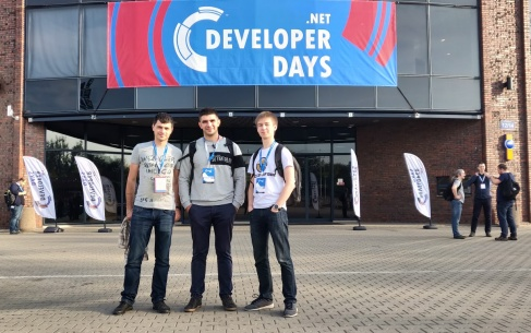Никсы на .NET Developer Days 2018