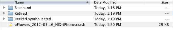 Crash Logs