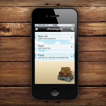 Travel Packing List App for iPhone Free to Celebrate the 5th Anniversary