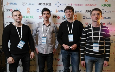 NIX Solutions' Java-delegation at JPoint-2015