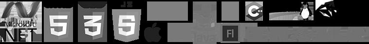 Tech cloud of NIX Solutions Custom Software Development