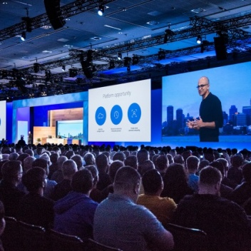 Presentation of Microsoft Build 2016