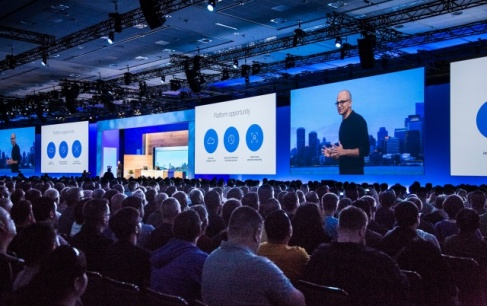 Presentation of Microsoft Build 2016