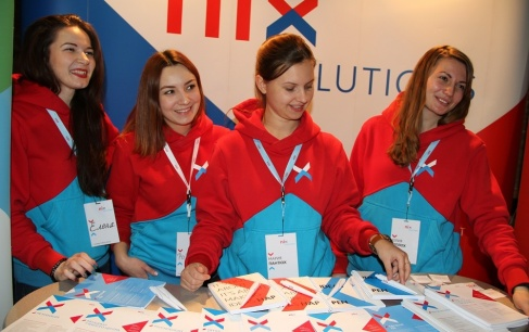 NIX Solutions at job fairs in KhNUE, KhNU, and Fabrika.space