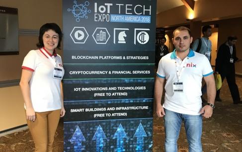 NIX at Blockchain | IoT | AI | CyberSecurity Expo North America 2018