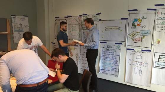 NIX Solutions experts at Certified Scrum Product Owner training