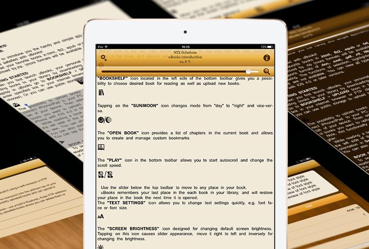 uBooks - iPad