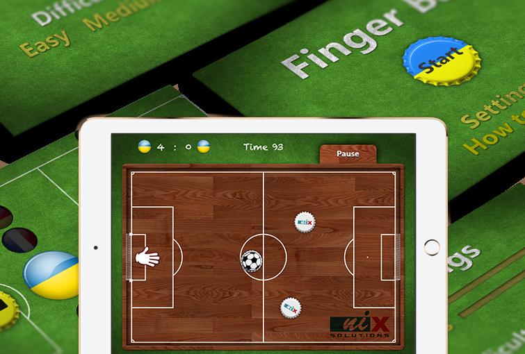 uFingerBall - iPad