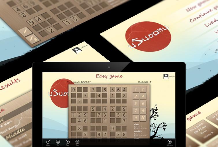 uSudoku - Windows tab