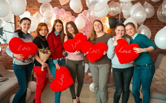 Valentine's Day in NIX Solutions