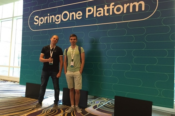 NIX Solutions Team on SpringOne Platform