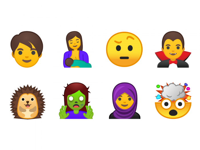 What stands behind the new Android emojis