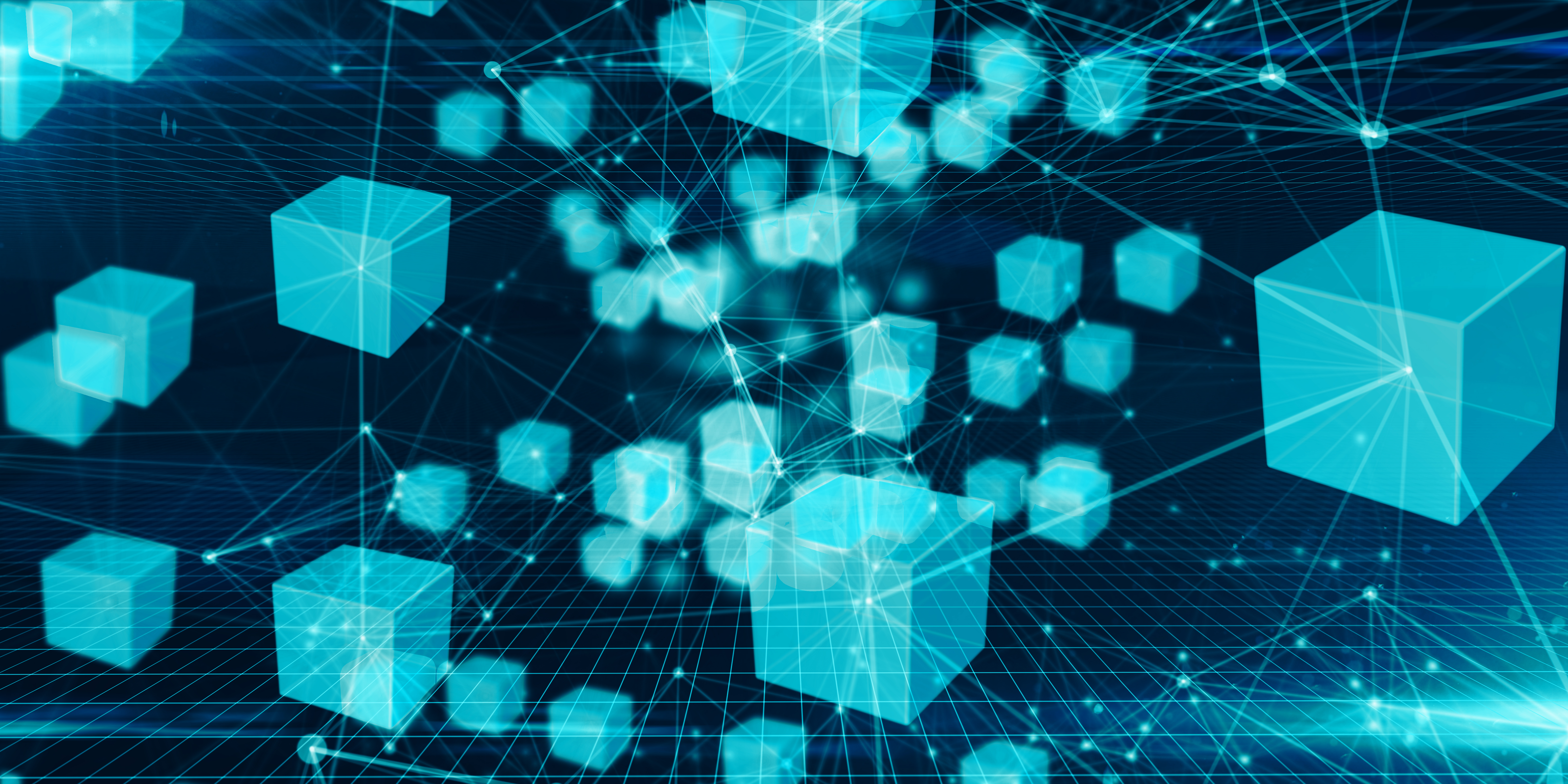 Conceptual graphic wallpaper cloud computing online storage and computer network connectivity for devices over the internet