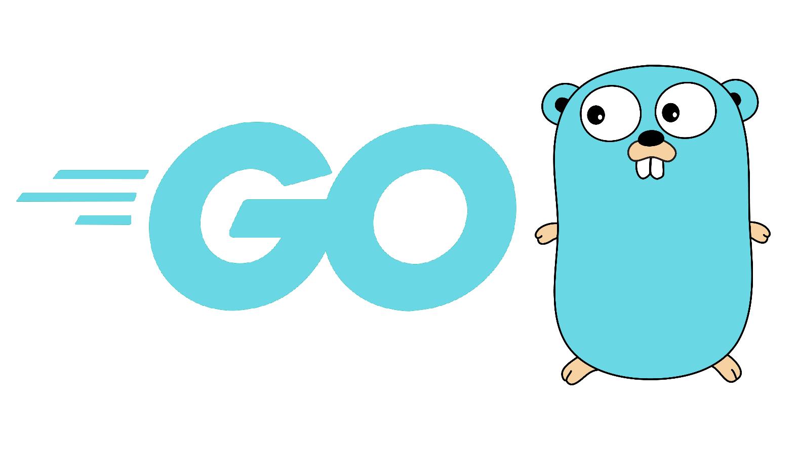 A photo of the Go Language logo